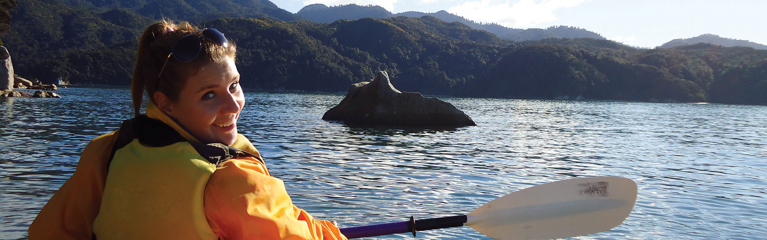 Kayaking Abel Tasman Stray NZ
