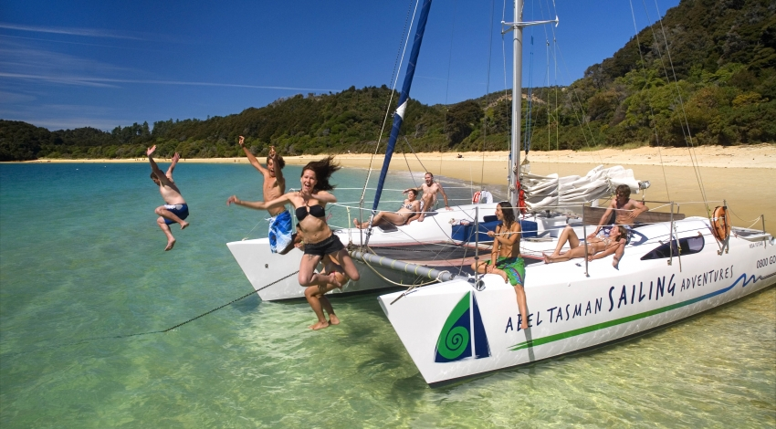 Abel Tasman Sailing Adventures - Full Day Sail Tour