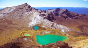 Tongariro National Park Emerald lake
