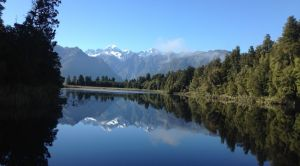 Lake Mattheson New Zealand