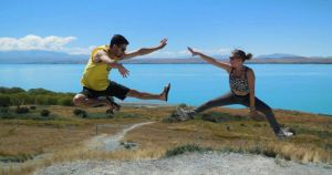 lake tekapo couple