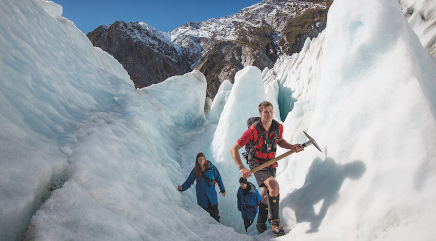 franz josef ice walls SJ Highlights