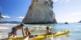 NZ Cathedral Cove Kayaking thumb