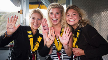 nevis bungy girls